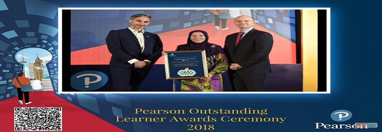 Tahniah KPMB!! Outstanding Pearson Learner Awards