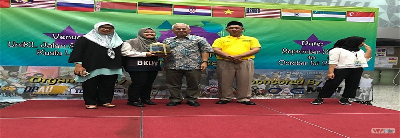 Tahniah !! 2nd World Innompic Games
